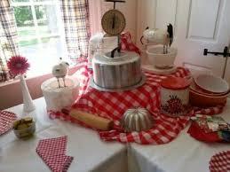 retro kitchen themed bridal shower idea see more bridal shower