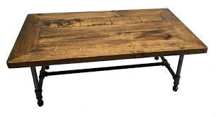 Rustic Industrial Coffee Table Classic Rustic Industrial Coffee Table Wooden Penguin