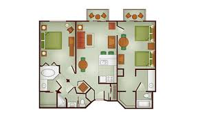 Disney Boardwalk Villas Floor Plan The Villas At Disney U0027s Wilderness Lodge Dvc Rental Store