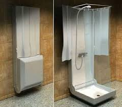 showers ideas small bathrooms showers for small bathrooms https i pinimg 736x cf 58 e9