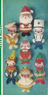 112 best vintage christmas crafts images on pinterest vintage