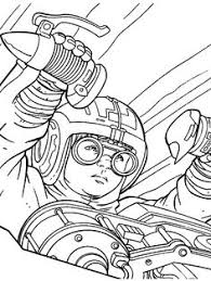 trade federation battleship coloring page for the kids