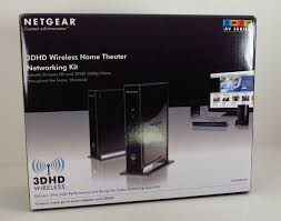 home theater connection netgear 3dhd wireless home theatre networking kit