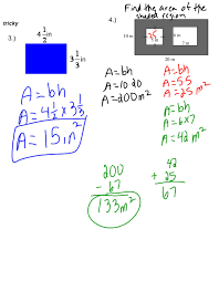 what is area amount of space inside a flat shape measured in