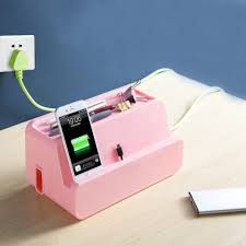 online shop desktop power cable socket storage box organizer home