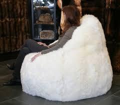 lamb fur bean bag lars paustian international furs