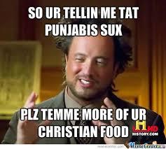 Meme Punjabi - punjabi vs christian by mandeep meme center