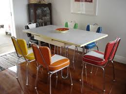 kitchen retro dinette sets 1950s formica kitchen table and