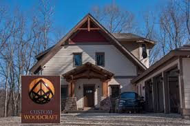 log homes and timber frames custom woodcraft builders indiana