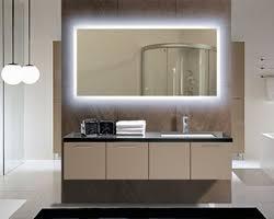Led Backlit Bathroom Mirror Backlit Led Bathroom Mirror Cool Idea Home Ideas