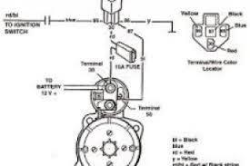 350 chevy starter motor wiring diagram wiki