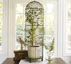 Birdcage Decor For Sale Tall Wire Bird Cage Pottery Barn Love The Idea Of A Plant In