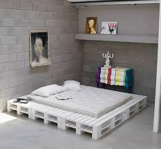 Pallet Platform Bed Charming And Lovely Wooden Pallet Projects Pallet Idea