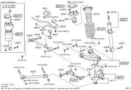 1990 lexus ls400 parts 99 ls rear suspension help clublexus lexus forum discussion