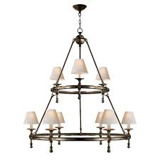 Ring Chandelier Buy The E F Chapman Classic Two Tier Ring Chandelier By