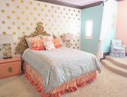 bedroom breathtaking coral bedding and blue bedding for modern