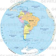 Brazil On South America Map by South America Map World Map South America Map Physical South