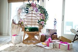 bridal shower chair malibu themed bridal shower it girl weddings