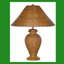Wicker Table Lamp Wicker U0026 Rattan Table Lamps Wicker Floor Lamps