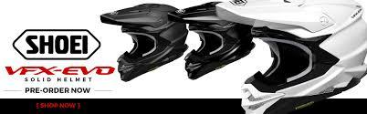shoei motocross helmets closeout shoei vfx evo solid helmet motocross mtb news bto sports