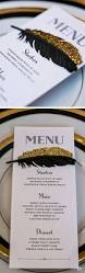Wedding Invitations With Menu Cards Best 25 Black And Gold Invitations Ideas On Pinterest Deco
