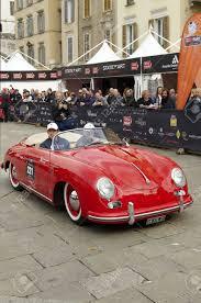 porsche 356 speedster brescia italy may 6 a porsche 356 speedster of 1954 at the