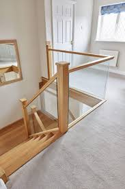 beautiful in line glass staircase neville johnson