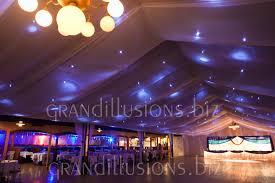 Chiffon Ceiling Draping Wedding Grand Illusions