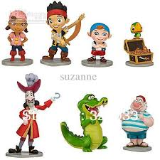 2017 wholesale fashion cute pvc jake neverland pirates