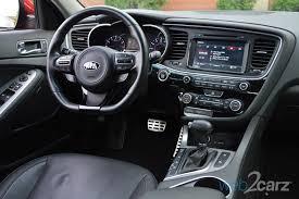 Optima Kia Interior 2014 Kia Optima Sx Turbo Review Web2carz