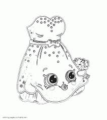 coloring shopkins lil u0027 wedding dress