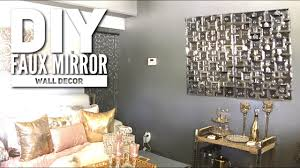 diy dollar tree faux mirror zgallerie inspired home decor 2017