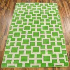 Www Modern Rugs Co Uk Bazaar 09649 71 Green Ivory From 34 Www Modern Rugs Co Uk
