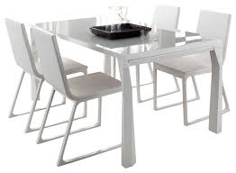 contemporary dining tables extendable sapphire prisma extendable dining table modern dining tables modern