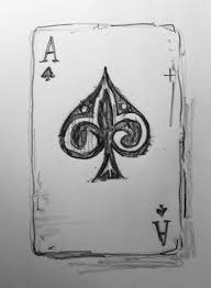 1 000 things to draw 4 ace of spades u2026 pinteres u2026
