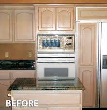 kitchen cabinet refinishing before and after stunning best kitchen cabinet refacing before and after photos