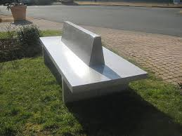 Concrete Patio Bench Modern And Perfect Concrete Outdoor Furniture All Home Decorations