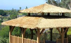 Cheap Tiki Huts For Sale Synthetic Thatch U0026 Artificial Thatch Roofing Tiki Shack Importer