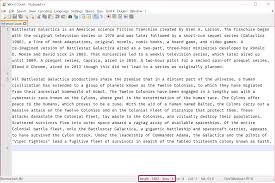 Count Words In A Document In Wordpad Notepad Word Count Cathrine Wilhelmsen