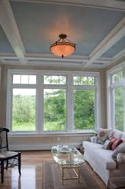 What Is A Sunroom Used For Sunroom Addition By Pnb Coffered Ceilings With Faux Painted