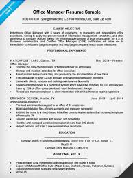 Office Manager Sample Resume Office Manager Resume Template Office Manager Resume Samples 2017