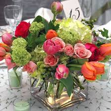 floral centerpieces 47 bright floral centerpieces for weddings weddingomania
