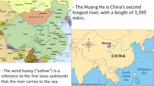 Rivers In China Map Ss7g9 The Student Will Locate Selected Features In Southern And