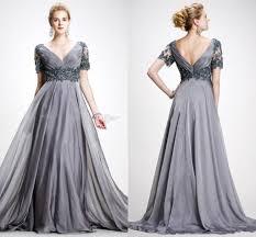 elie saab 2017 plus size dresses mother of the bride v neck