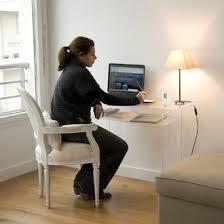 bureau console pas cher bureau console en plexiglass hauteur 76 4 cm prix promo
