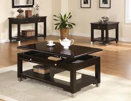 table in living room modern living room set with tv console bookcase coffee table