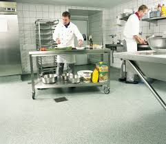 types of kitchen flooring for commercial installation