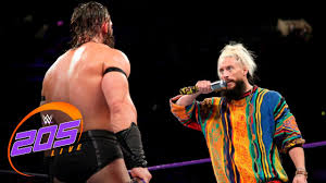 picture of enzo enzo makes his 205 live debut 205 live aug 22 2017