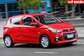 holden hatchback 2016 holden spark review wheels