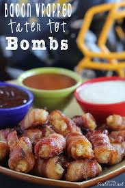 thanksgiving turkey wrapped in bacon bacon wrapped tater tot bombs appetizer tgif this grandma is fun